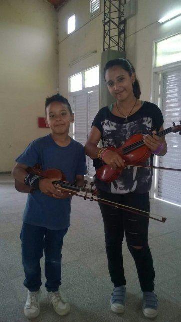 Un niño prodigio de SOS Música llegó a los medios nacionales
