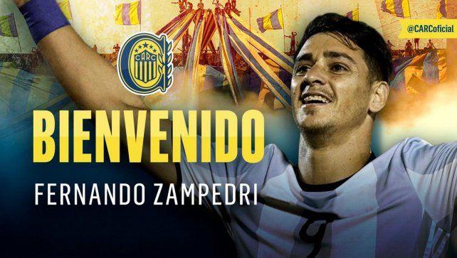 Central anunció el fichaje de Zampedri pero en Tucumán niegan un acuerdo