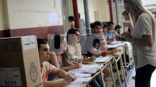 Las escuelas afectadas a la elección no dictarán clases el lunes por la mañana