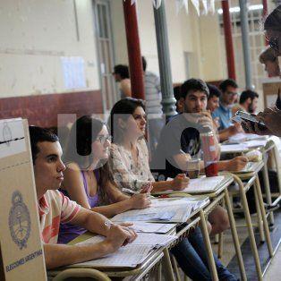 las escuelas afectadas a la eleccion no dictaran clases el lunes por la manana