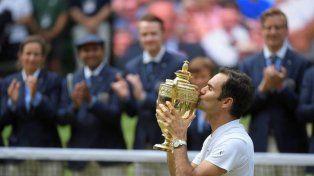 Roger Federer agiganta su historia: es campeón en Wimbledon por octava vez