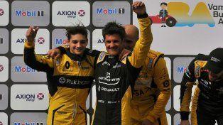 Manuel Luque y Emiliano Spataro fueron segundos en Buenos Aires
