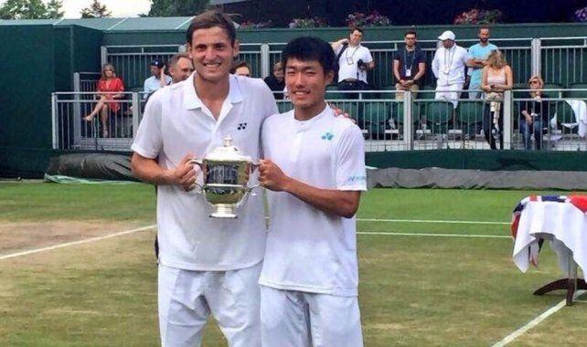 ¡Un argentino gritó campeón en Wimbledon!