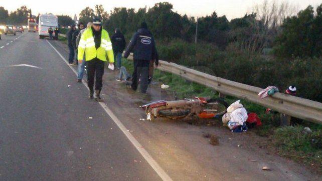Accidentes fatales: el 75 por ciento de las víctimas en la ciudad iba en moto