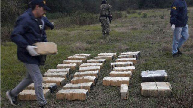 En Villa Urquiza. Una avioneta con droga fue el punto clave para desbaratar la banda en mayo de este año.