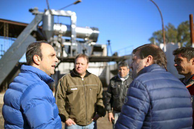 Bacheo: con la puesta a punto de la Planta se duplicará la cantidad de asfalto