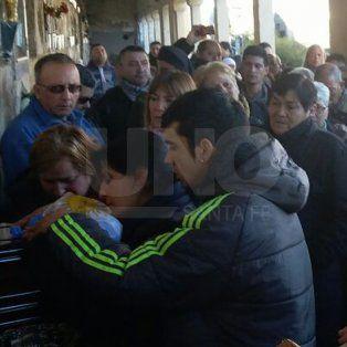 Las imágenes del último adiós al policía Pablo Cejas