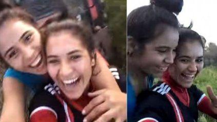 Dos hermanas murieron mientras se filmaban arriba de un tractor
