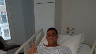 Por su lesión, Ramiro Funes Mori no jugará hasta 2018 y se podría perder el Mundial
