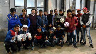 El municipio entregó equipamiento deportivo a instituciones de la ciudad