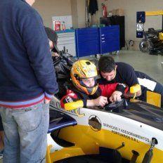 Ian Reutemann probó en Brasil