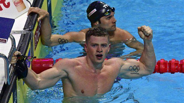 Adam Peaty batió el récord del mundo en los 50 metros pecho con sólo 23 brazadas