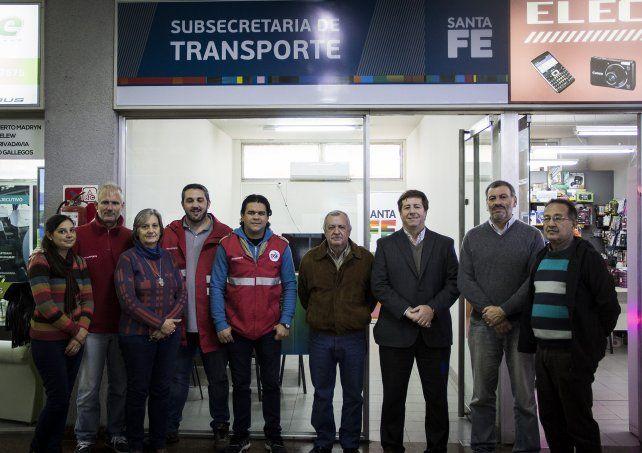 Transporte de pasajeros: se podrán hacer trámites y presentar reclamos en la Terminal