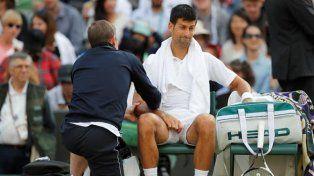 Novak Djokovic se despidió por lesión hasta 2018