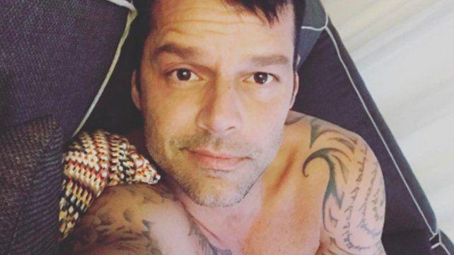 La foto súper provocativa de Ricky Martin, sin ropa interior