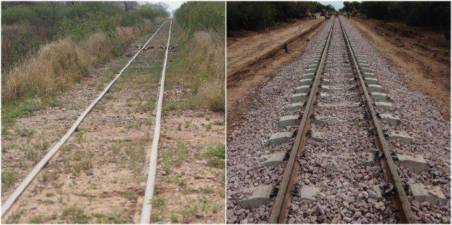 Finalizó la renovación de los primeros 100 kms de las vías del Belgrano Cargas