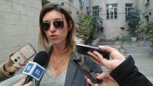 La fiscal. María Laura Martí le atribuyó la autoría de cuatro delitos.