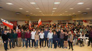 Fuerte respaldo de radicales a los candidatos del Frente Progresista