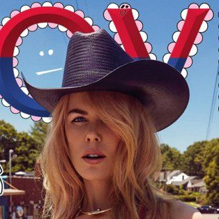 Nicole Kidman posó como una sexy cowgirl: el resultado fue tan explícito que se arrepintió