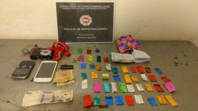 La policía antinarcóticos secuestró cocaína en Coronel Dorrego