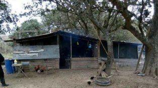 El lugar.La zona donde se produjo el conflicto armado del que resultó fallecido Barrios.
