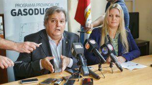 Gasoducto de la costa: para la provincia, el proyecto de la municipalidad es inviable