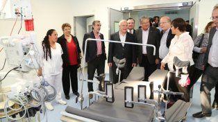 Destacado. Para Fascendini el hospital de Ceres es uno de los mejores en el sistema latinoamericano.