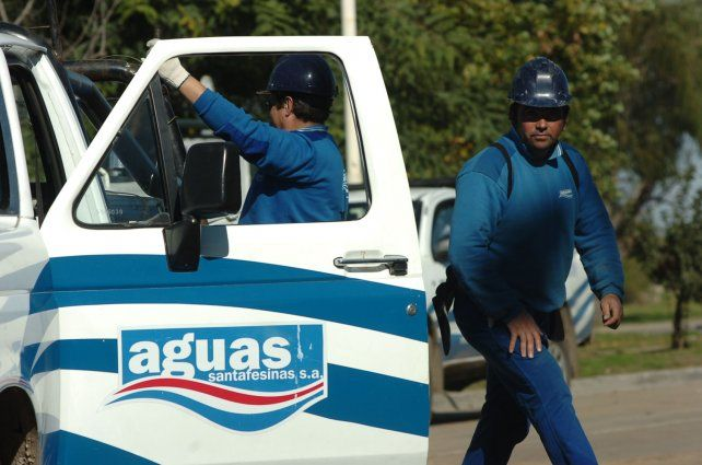 Trabajos de Assa en un sector de Jardín Mayoraz y Los Hornos