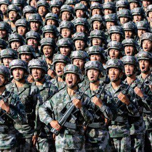 asi fue el increible desfile militar de china para celebrar los 90 anos de su ejercito