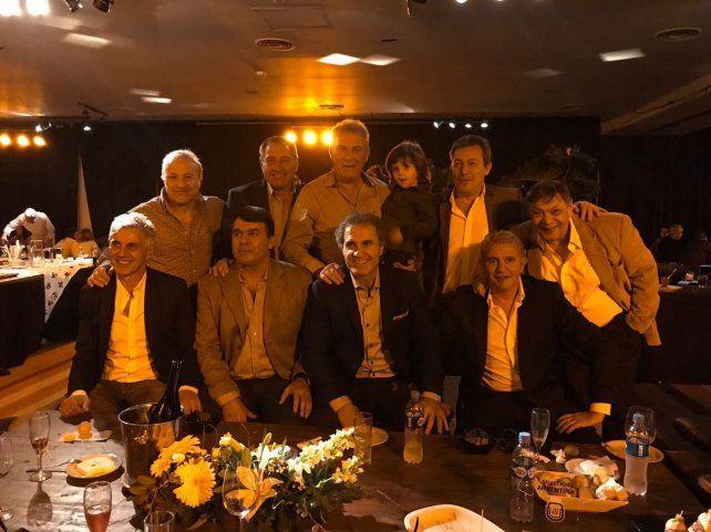 Nery Pumpido celebró su cumpleaños en Santa Fe con muchos campeones mundiales del 86