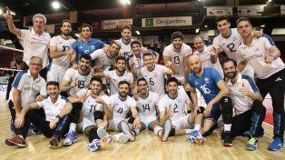 Argentina salió campeón de punta a punta en Montreal