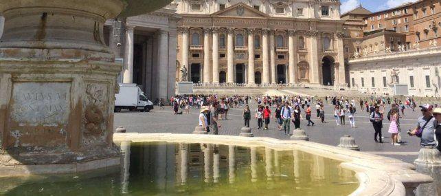 La eterna Roma, la ciudad de las fuentes, ahora se muere de sed