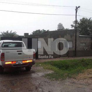 En Santo Tomé. Los investigadores allanaron la vivienda el 2 de abril pero el sindicado narco no estaba.