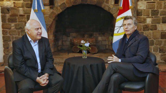 Miguel Lifschitz viajará invitado por Mauricio Macri a Estados Unidos en busca de inversiones