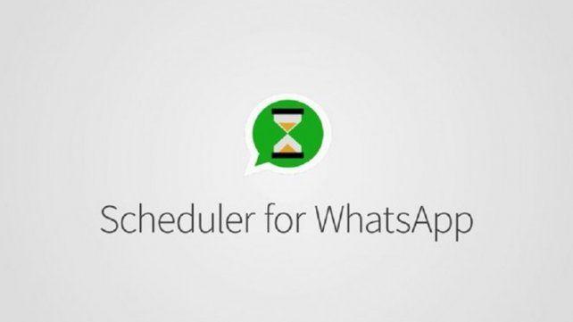 ¿Cómo hacer para programar mensajes en WhatsApp?