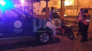 Detuvieron a dos jóvenes cuando intentaban robar una motocicleta