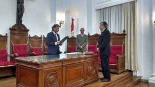 Rubén Martínez juró como Fiscal Regional de la Cuarta Circunscripción Judicial