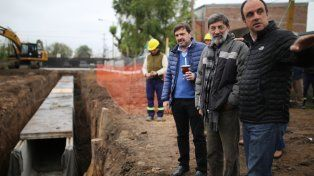 Plan Norte: avanza a buen ritmo la obra del desagüe Espora