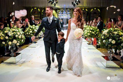 Las estrellas que fueron a la boda de Messi sólo donaron 200 mil pesos