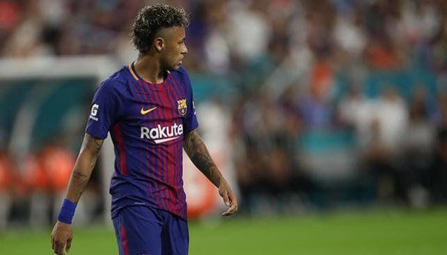 Neymar se despidió de sus compañeros y se va al PSG