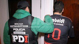 Once vendedores barriales de drogas detenidos en diferentes allanamientos
