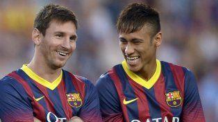 Messi despidió a Neymar de manera especial
