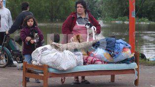 Un causa sin cerrar. El pasado 29 de abril se cumplieron 14 años del desborde del río Salado que causó la muerte de 18 personas y que obligó a miles de familias a abandonar sus viviendas.