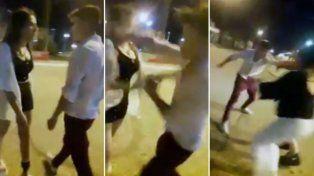 VIDEO: golpeó a una joven y quedó todo registrado
