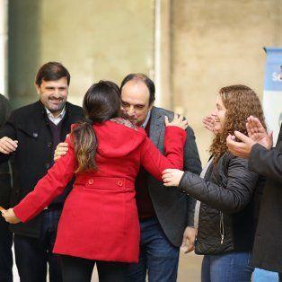 Entrega. Se realizó en las instalaciones de la Casa de Beata Clara Bosatta en Blas Parera al 7.700.