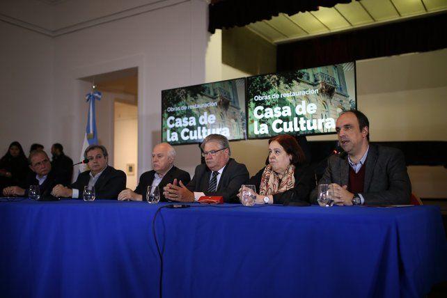 Acuerdo Capital: se licitó la restauración de la Casa de la Cultura