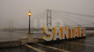La niebla marcó el inicio de la jornada en la ciudad
