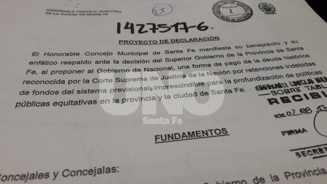 Coparticipación: el Concejo respaldó la propuesta para el pago de deuda a Nación