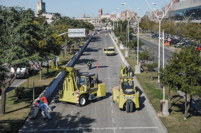 Súper TC2000: comienza el armado del circuito Santa Fe Ciudad