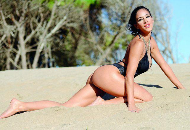 Celeste Muriega, la infartante morocha que busca un hijo
